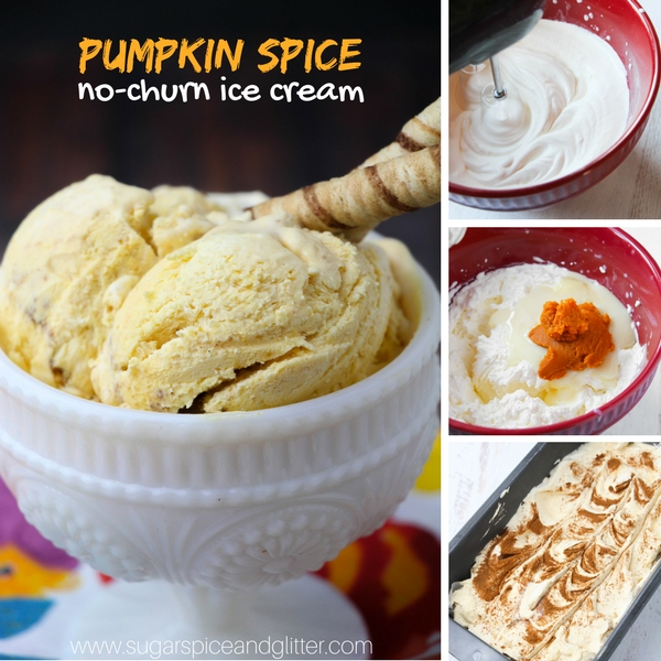 How to make homemade pumpkin spice ice cream without a machine