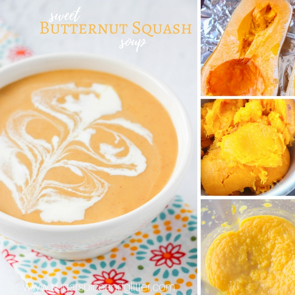 How to make homemade butternut squash soup