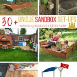 Unique Sandbox Set Ups for Kids