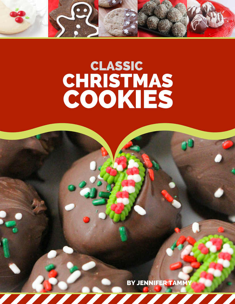In our Classic Christmas Cookies ebook, we have gathered 40 of our favorite Christmas cookie recipes. All guaranteed to be easy, stress-free and delicious. The only thing you'll need to worry about is if you made enough!