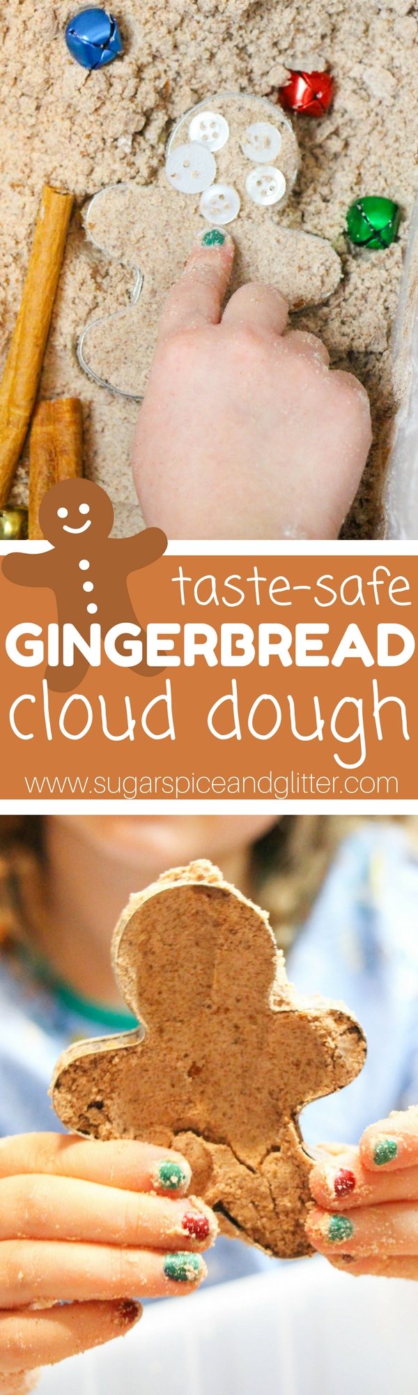 Gingerbread Cloud Dough