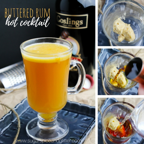 Buttered Rum Cocktail Recipe ⋆ Sugar, Spice And Glitter
