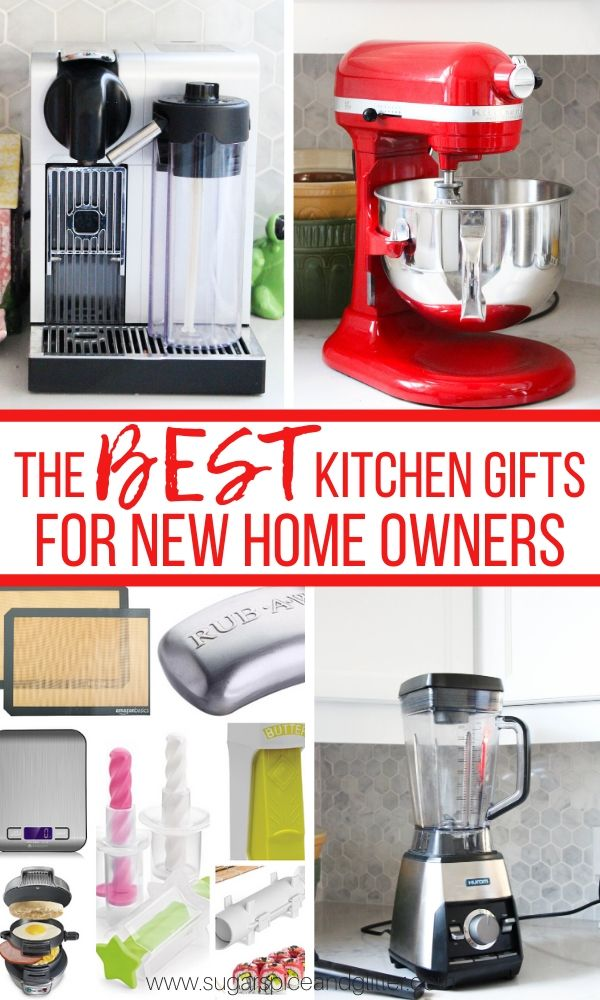 The BEST Kitchen Gifts for New Home Owners - over 20 amazing ideas for new home owners or newlywed gifts, and 10 of them are under $20