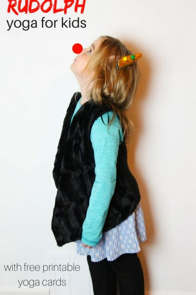 Rudolph Yoga for Kids