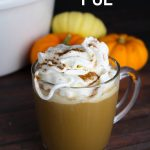 Crockpot Pumpkin Spice Lattes (with Video)