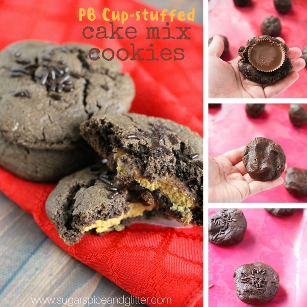 How to make Peanut Butter stuffed Chocolate Cookies