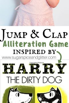 Harry the Dirty Dog Alliteration Jumping Game