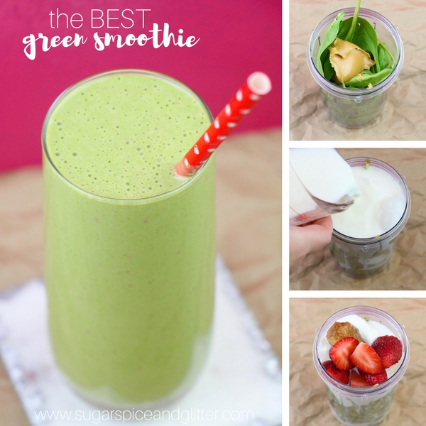 How to make a quick and easy green smoothie that tastes like a milkshake