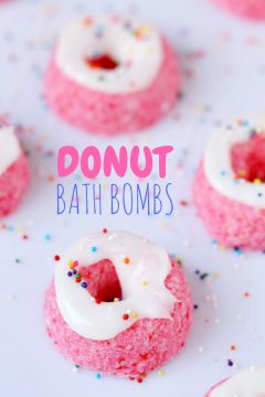 Donut Bath Bombs (with Video)