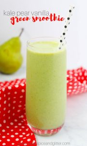 Kale Pear Smoothie recipe