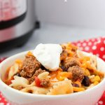 Instant Pot Taco Pasta (with Video)
