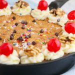 Birthday Skillet Cookie