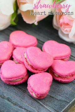 Heart Macarons (with Video)