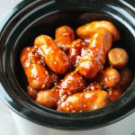 Crockpot Honey Garlic Smokies