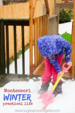 Winter Practical Life Activities