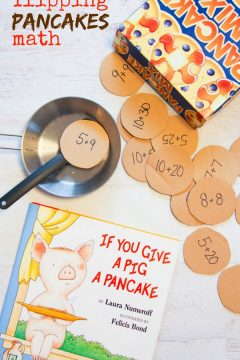 If You Give a Pig a Pancake Math Activity