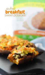 Stuffed Breakfast Sweet Potatoes