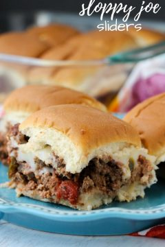 Easy Sloppy Joe Sliders