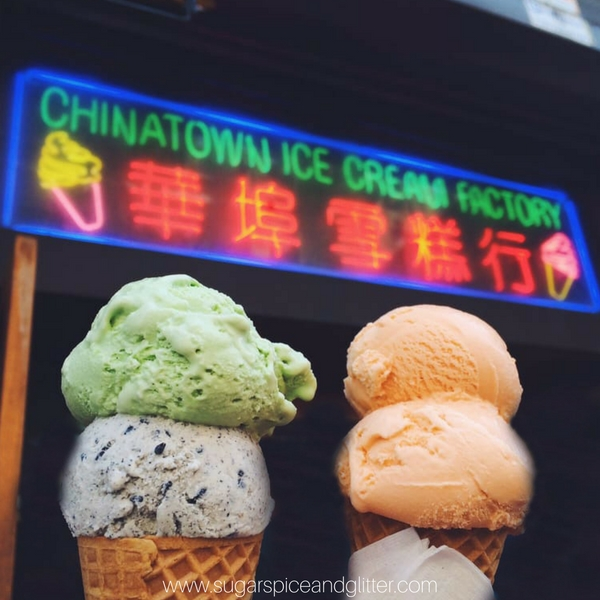 Chinatown Ice Cream Factory - one of the best ice cream in NYC