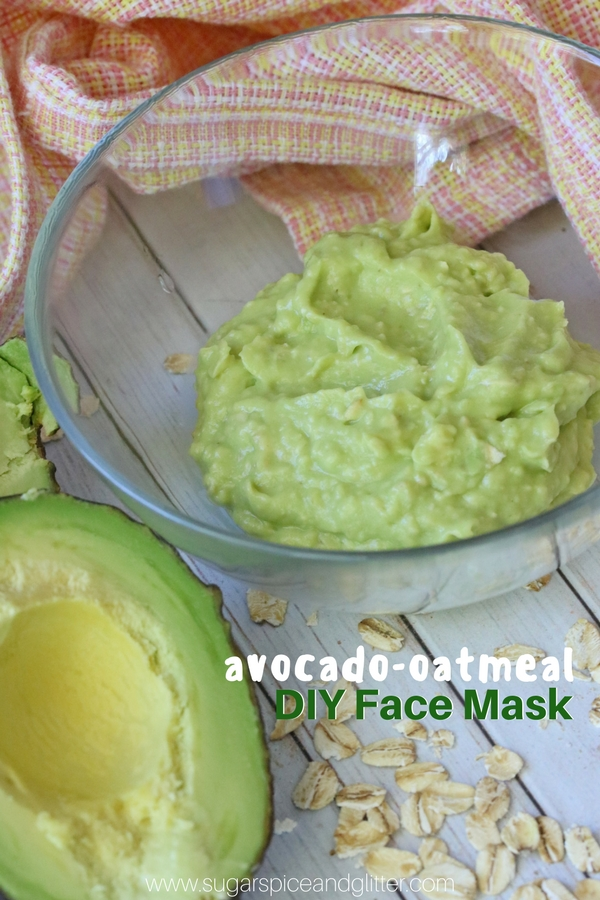 Easy DIY Avocado Face Mask recipe - the perfect home remedy for calming your skin, naturally