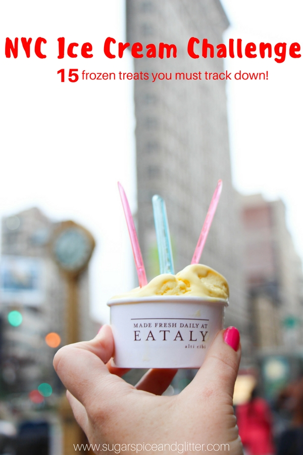What to eat in NYC: the Ice Cream Edition. Frozen hot chocolate, rolled ice cream, and more!
