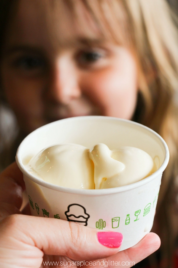 Frozen Custard from shake Shack is one of our top 10 ice creams to try in NYC