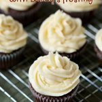Guinness Chocolate Cupcakes with Bailey's Frosting (with Video)