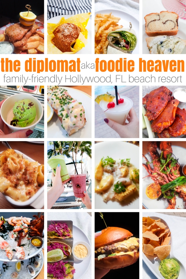A foodie beach resort in the heart of Florida, the Diplomat Beach resort is a luxurious and modern resort perfect for families