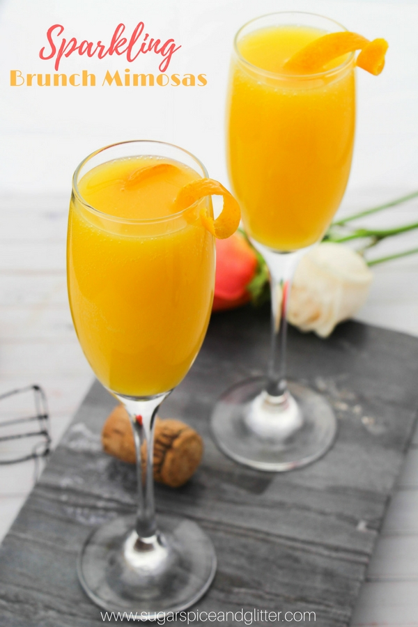 A delicious brunch cocktail, sparkling brunch mimosas are a classic and in this post, I share all the best tips for making amazing mimosas, including the best champagnes to make mimosas