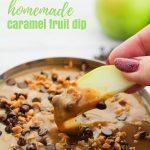 Homemade Soft Caramel Dip