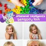 Inside Out Emotions Sensory Bin