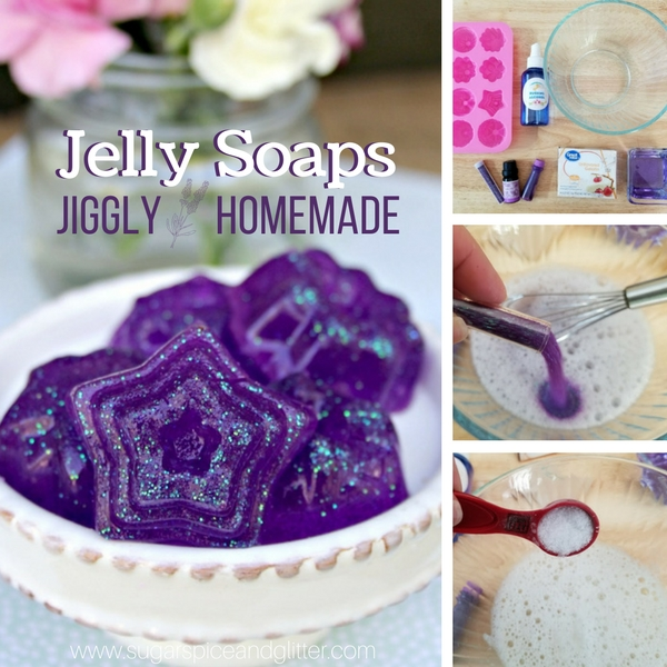 DIY Jiggly Jelly Soap
