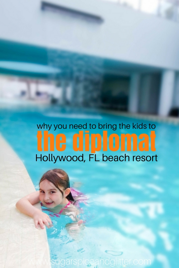 Find out why the Diplomat Beach Resort in Hollywood Florida is one of our family's favorite resorts - with amazing food, a pristine beach and lush accommodations