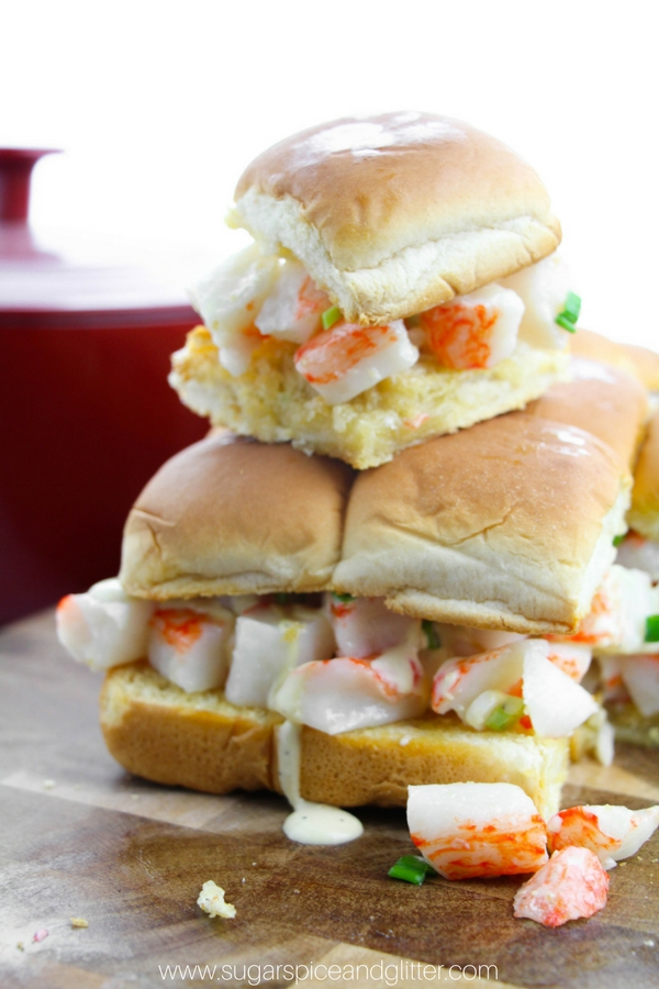 Lobster Roll Sliders ⋆ Sugar, Spice and Glitter