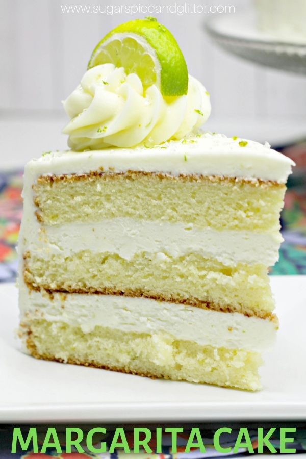 A fun recipe for Margarita Cake - a tequila-infused cake recipe perfect for Cinco de Mayo!