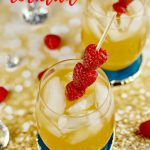Raspberry Passion Fruit Cocktail