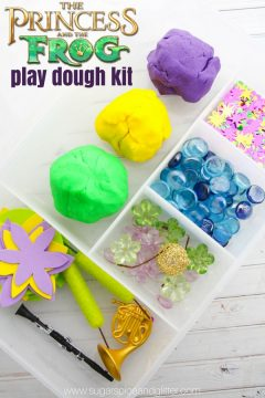 Princess and the Frog Play Dough Kit