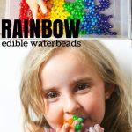 Edible Rainbow Waterbeads