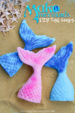 DIY Mermaid Tail Soaps
