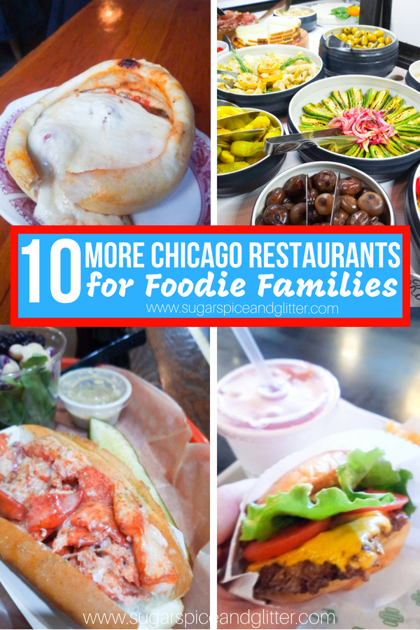 Awesome restaurants for kids in Chicago with serious foodie cred. Chicago restaurants that will keep parents and kids happy and well-fed on a budget
