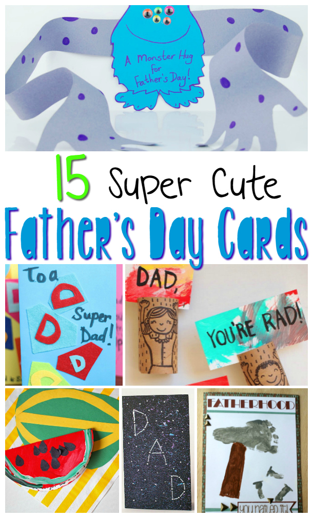 Father S Day Cards Kids Can Make Sugar Spice And Glitter