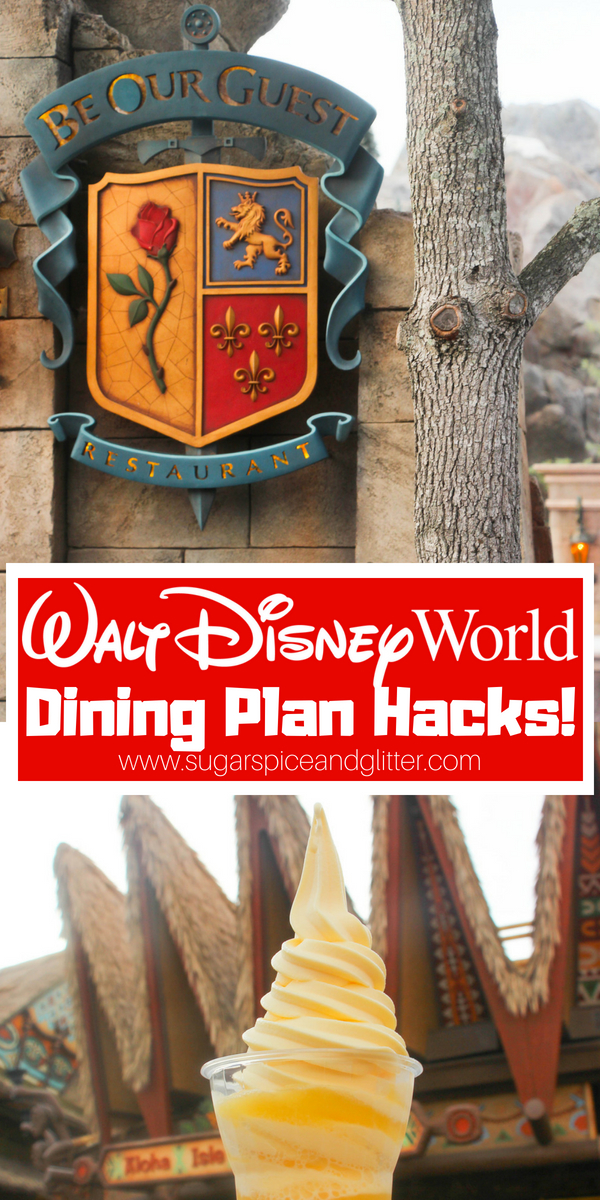 Everything you need to know when using the Disney Dining Plan - from how to cancel reservations without penalty, to which restaurants not to waste credits at, and how to get 3 meals for a single QS credit!