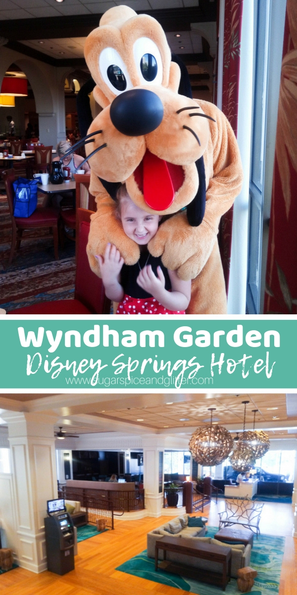 A magical stay just steps away from Disney Springs, find out why our family loved Wyndham Gardens and all the perks this Disney hotel offers, including 60 day FastPass+, Extra Magic Hours and more - for $105/night!