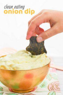 Clean Eating Onion Dip