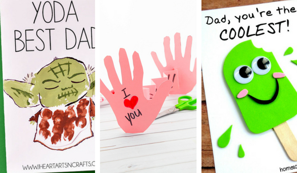 Arts And Crafts Fathers Day Cards