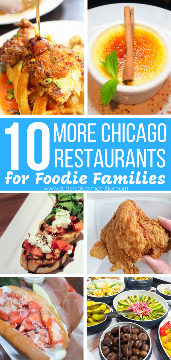 10 More Chicago Restaurants for Foodie Families - budget-friendly Chicago restaurants the whole family will love, kid-friendly with serious foodie cred