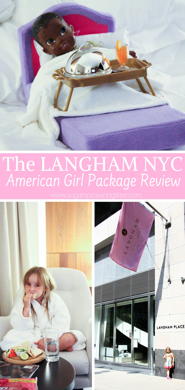 An honest family-based review of the Langham on Fifth Avenue in NYC. A luxurious, family-friendly hotel offering a special American Girl experience for young guests