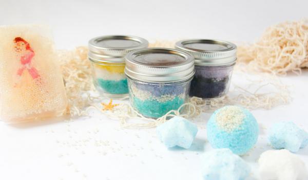 Little Mermaid Sugar Scrubs Sugar Spice And Glitter