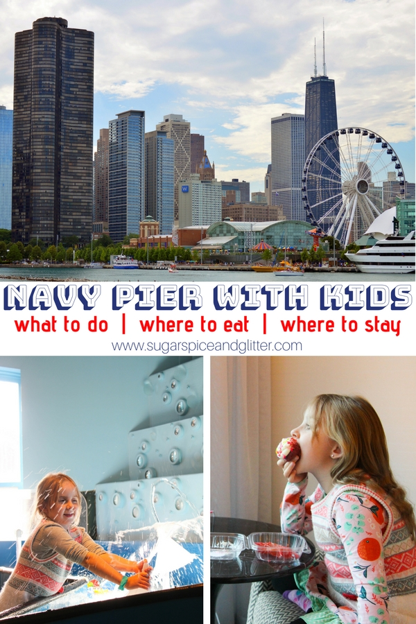What to Do at Navy Pier with Kids - the best Navy Pier attractions for kids, best Navy Pier area restaurants and where to stay. You need to spend at least one day of your family's Chicago vacation at Navy Pier