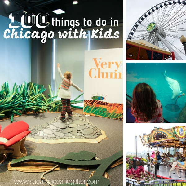 Find all the inspiration you need to plan your family's Chicago vacation in this collection of 100 things to do in Chicago with kids